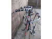 Halford 3 bike carrier rack