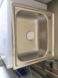 Temporary sink kit