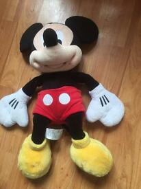 Official Disney Mickey Mouse cuddly toy