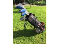 Junior Callaway Golf Clubs and bag