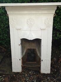 Original white fire surround