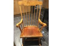 Beautiful antique rocking chair