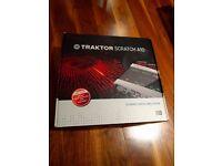 Native Instruments Traktor Scratch A10 Mk2 soundcard + Traktor Scratch Pro 2 licence + UDG Hardcase