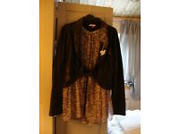 Joe Browns Jacket with Blouse Insert Panel Size 12