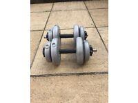 Weights 15lb dumbbells