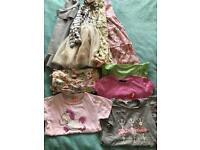 Girls clothes bundle 4/5 years