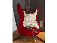 1990's Encore Strat Style Electric Guitar - Fully set up