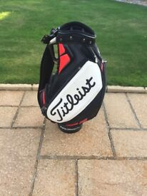 Titleist tour bag.