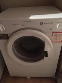 White knight small tumble dryer