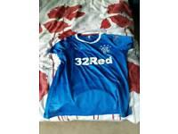 Woman's rangers football shirt