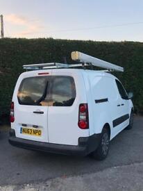 """2013 """"63"""" Peugeot Partner CRC Crew Van"""