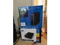 4TB Samsung D3 Station USB3 Drive also WD Elements 1TB Drive