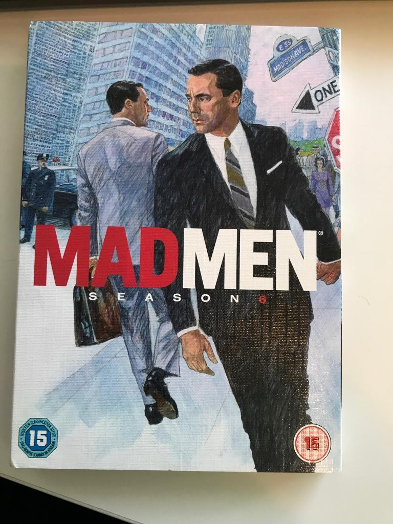 DVD MAD MEN SEASON 6