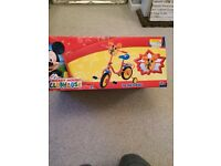 "New in box, Micky mouse 10"" wheels bike"