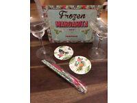 Margarita glass set (2)
