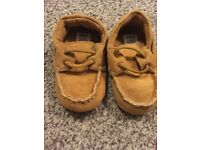 Mamas and Papas slip on boys shoes