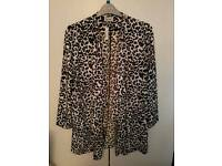 New George waterfall lightweight summer jacket size 16