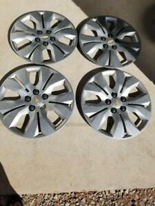 THESE ARE WHEEL COVERS NOT RIMS    BRAND NEW TAKE OFF CHEVY CRUZE  FACTORY OEM 16 INCH WHEEL COVER SET OF FOUR.
