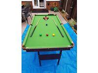 Pot Black 5ft Snooker & Pool Table