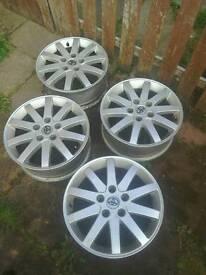 Alloy wheels 16 inch 114pcd