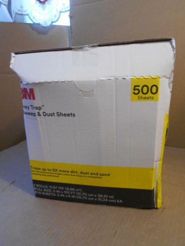 "3M Easy Trap Duster Sheets 55655W 5"" x 125"