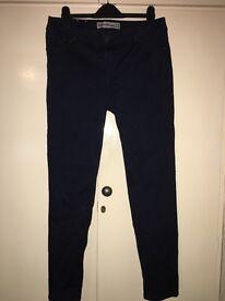 Size 14 New Look Super Skinny Jeans - dark blue