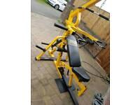 powertec multi lever gym