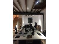 Desk space for rent in a shared Studio - DALSTON, E8