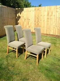 4 x dining chairs
