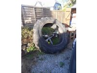 Tractor Tyre, free to collector