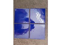 BLUE WALL TILES 1.25 SQ.M