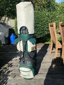 Golf cart bag / with clubs
