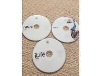 iLife iWork install discs