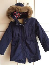 Girls winter coat 5/6
