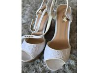New look size 4 cork wedges