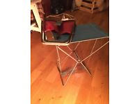 Pair of 1950s fishing stool