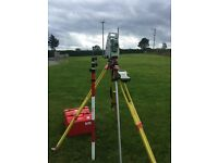 Complete One Man Leica Robotic Total Station