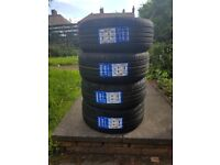 """Genuine Mercedes 17"""" Alloy Wheels and New Tyres"""