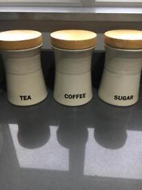 Tea sugar coffee set