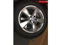 MB VIANO 17 inch ALLOYS with HANKOOK TYRES