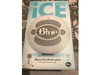 Snowball ice. USB microphone ( white )