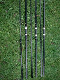 Carp Rods, Chub S-Plus 3lb TC x 3