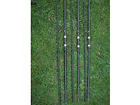 Carp Rods, Chub S-Plus 3lb TC x 3