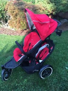 Phil and teds - navigator double stroller