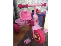 Peppa pig 3 wheel bike