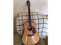 Fender Acoustic - repaired - READ DESCRIPTION