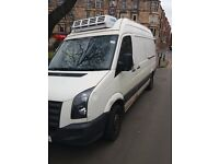 VW CRAFTER FRIDGE VAN 10 PLATE 1 OWNER FROM NEW