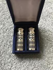 Silver Salt and Pepper Shaker Set