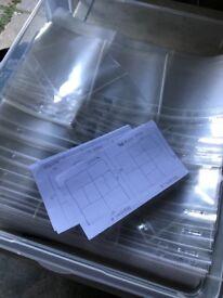 Scrapbooking Project Life Plastic Wallets