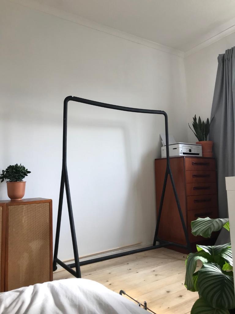 "Pæn Ikea ""TURBO"" Minimal Scandi style clothes rail/rack | in Manchester RL25"